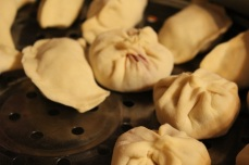 Wholesome and warming homemade Mongolian beef dumplings