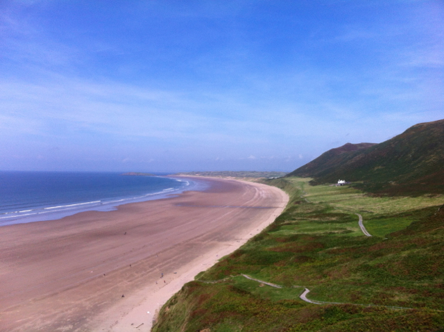 Rhossili Bay, Gower, Wales: Something for everyone - just pray for the sun!