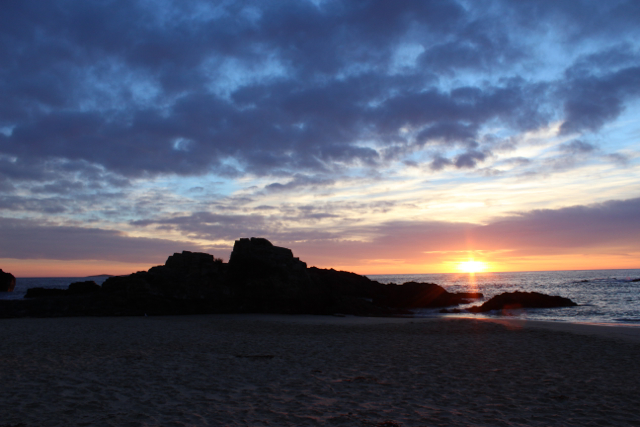 Sunrise across Mystery Bay...