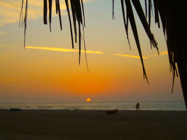 Sunset at Punta Sal, Peru; Pitch your tent on the beach!