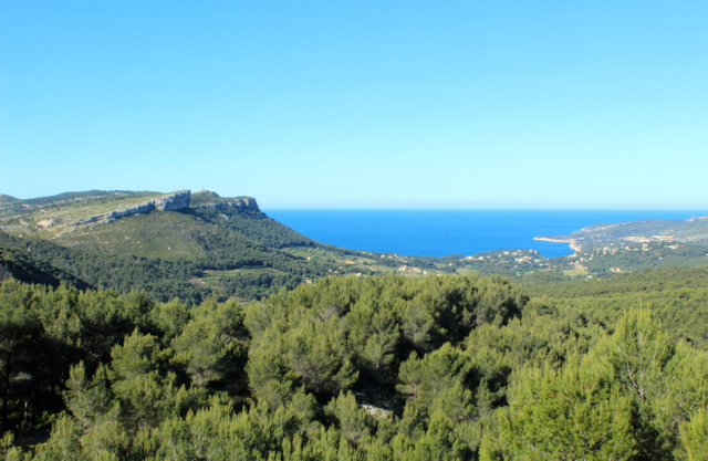 Dover to Toulon, A great family road trip! This lookout is the first glimpse of the Cote D'Azur