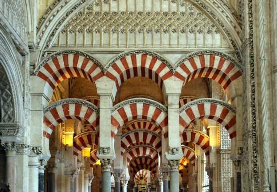 Cordoba Mezquita: Photo courtesy of Jim Pollard (Wikipedia)