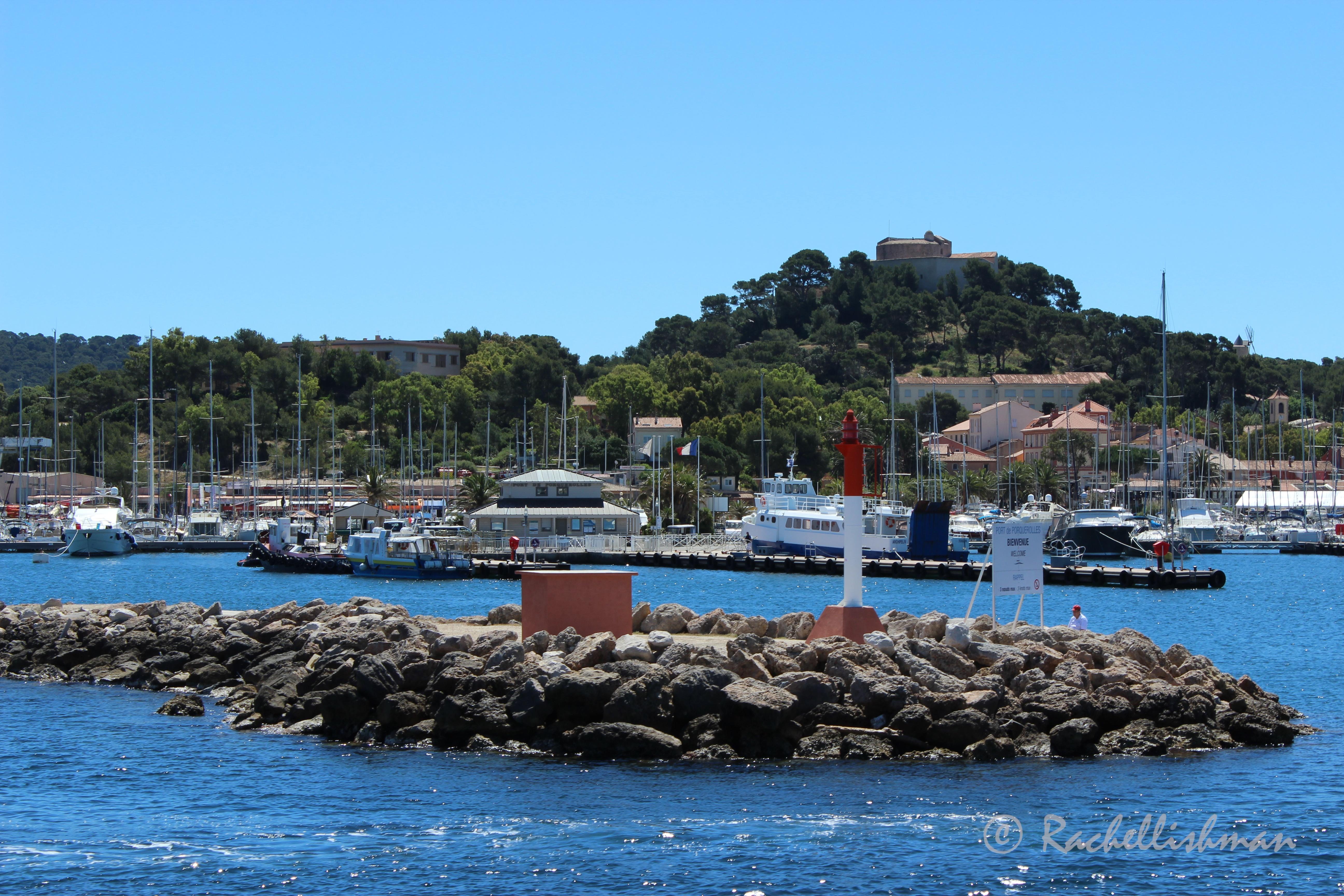 Porquerolles Harbour, Cote D'Azur