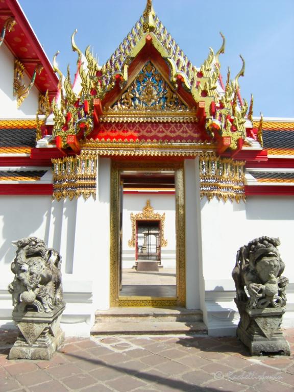 Inside Wat Pho, Bangkok