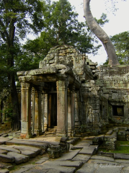 The ancient temple complex of Angkor Wat, Cambodia