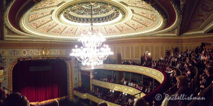 Opera in the UK is expensive: We watched a matinee of The Marriage of Figaro at The National Opera House for 7 Euros!