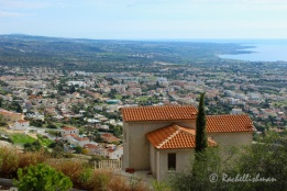 A view of Paphos, Cyprus - so historically important that the whole city is UNESCO protected!