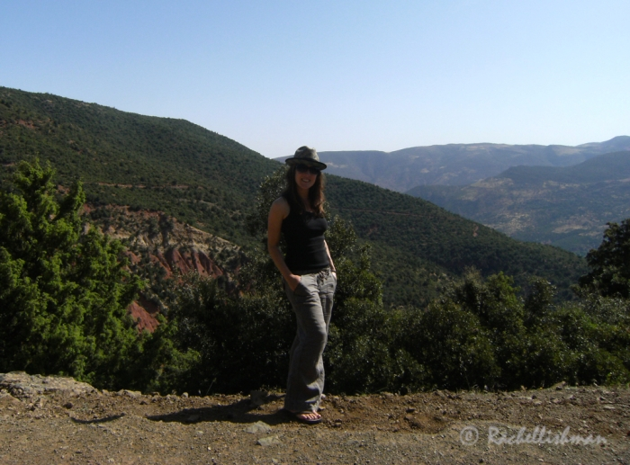 My hat finally got a work out in Morocco's mountains in 2010!