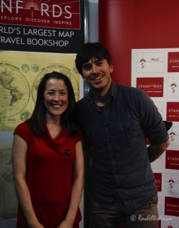 Destinations Show 2014; I met Simon Reeve