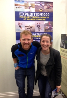 The Adventure Travel Show 2015: I met Dave Cornthwaite after his inspirational talk