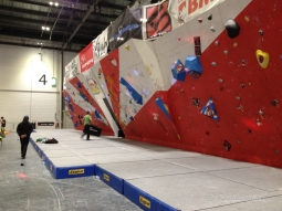 The Telegraph Outdoors Show 2015: Everyone can have a go on the indoor climbing walls