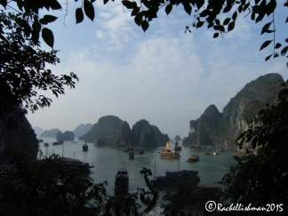 The calm of Halong Bay, Vietnam