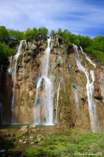 The largest waterfall in Plitvice: Veliki Slap