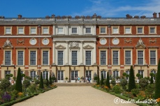 The East facade easily competes with the grandeur of France's Versailles, exactly as it was intended to at the time