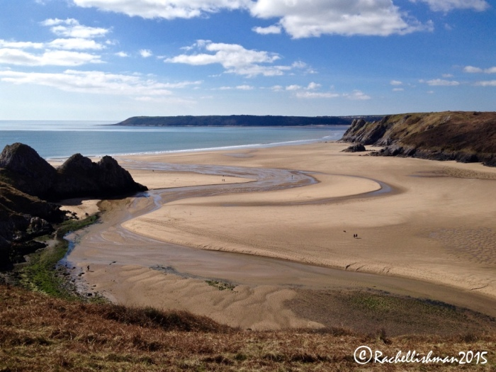 ...and its view isn't bad either! (Three Cliffs Bay)
