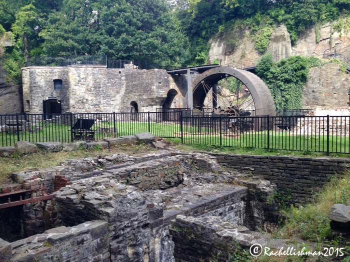 The Aberdulais Tin Works & Waterfall are only ten minutes drive out of Swansea.