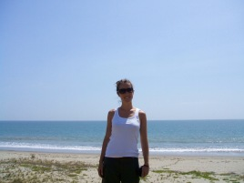 My first view of the Pacific Ocean - on the way to the beautiful Punta Sal, Peru