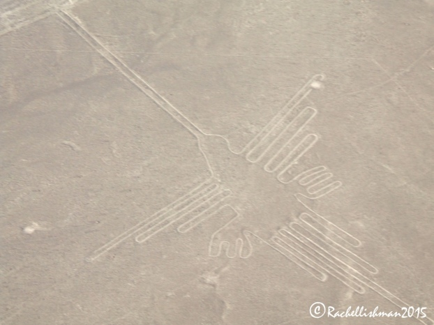 The Nazca lines hummingbird is a giant shape drawn in the sands of Peru's Nazca desert...