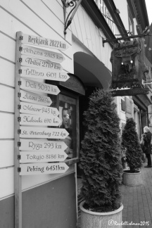 The old town's main tourist drag is a different side of Vilnius: Amber is sold, restaurants are clearly marked and hotels line the cobbled street