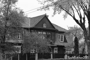 Zverynas district is one of the oldest areas of the city. Wooden houses that somehow escaped the changes of soviet rule, still stand in leafy residential streets