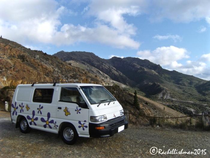 I was slightly upset that my hired camper van wasn't an original!