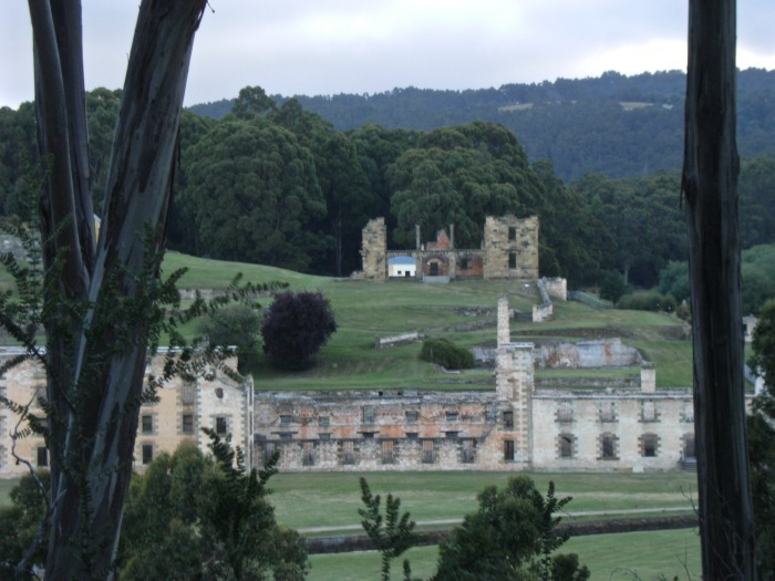 Port Arthur Penal Settlement in the south of Tasmania