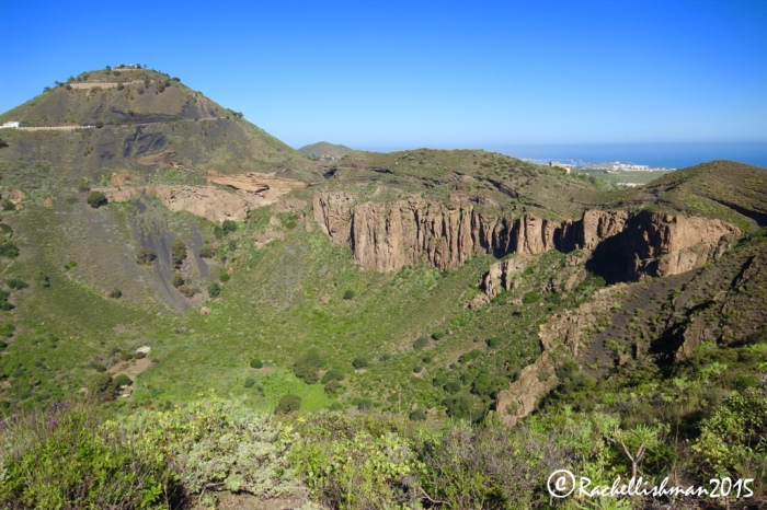 The Bandama Crater is an easy hike in the north of the island
