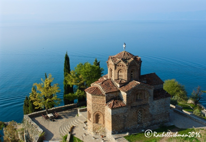 St John's church, perched on the edge of Lake Ohrid, is arguably Macedonia's most famous postcard view...