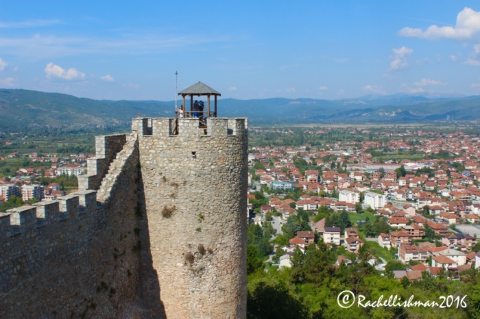 Samuel's Fortress still provides an impressive lookout over medieval and modern Ohrid.