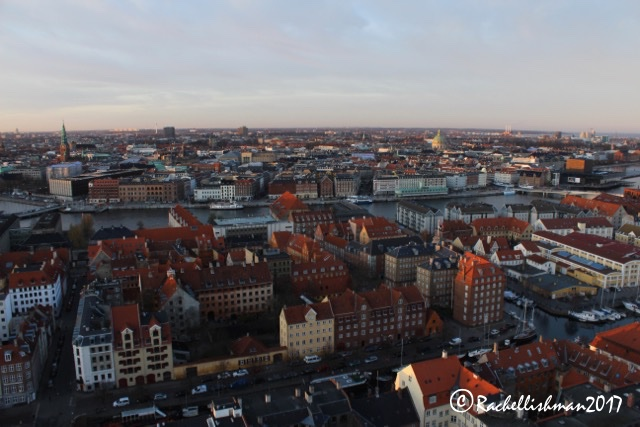 A vertiginous walk up the spire of the Church of our Saviour in Copenhagen offers fantastic sunsets and views across the city...