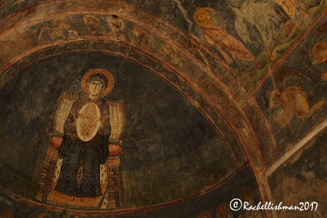 St Sophia's is the best place globally to see Byzantine frescoes.