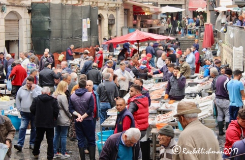 Catania's weekly fish market is a feast for the senses