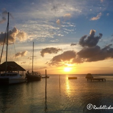 Sunset on Caye Caulker, Belize