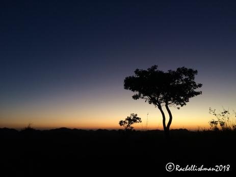 Sundown at the summit of Cerro Witz