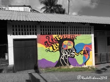 Street art in Livingston