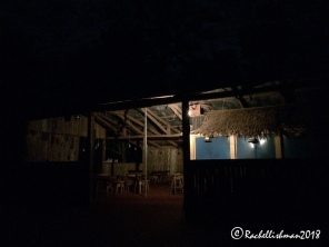 The lagoon bar. Not quite a city night club but fun for those who came...
